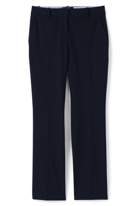 Women's Petite Wear to Work Wide Leg Pants