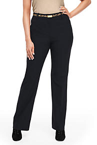 Womens Plus Linen Wide Leg Cropped Trousers - 22 Lands End Outlet Low Cost X3SwkP88f9