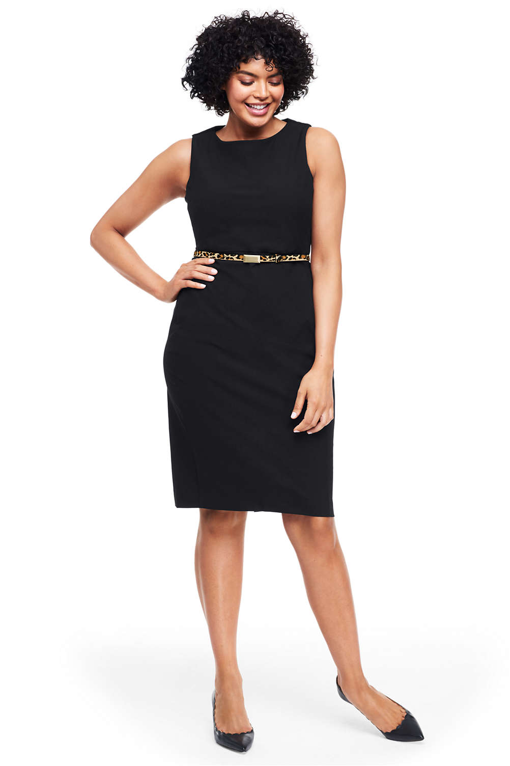 a0d09e91c88 Women s Plus Size Wear to Work Sheath Dress from Lands  End