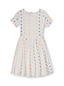 Little Girls' Jacquard Twirl Dress