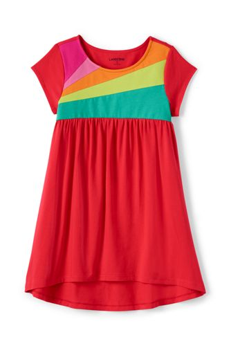 Toddler Girls Trapeze Colourblock Legging Top