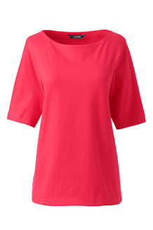 Women's  Elbow Sleeve Jersey Top