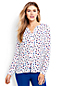 Women's Regular Print Button Front Blouse