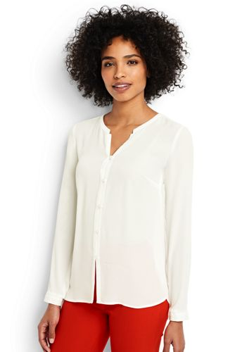 Women's Regular Button Front Blouse