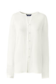 Women's White Shirts and Blouses | Lands' End