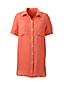 Women's Regular Short Sleeve Linen Shirt