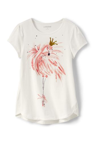 Toddler Girls A-line Embellished Graphic Tee