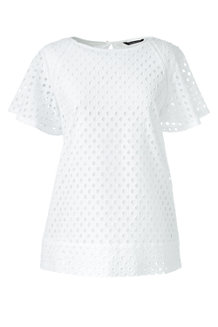 Women's Broderie Anglaise Blouse