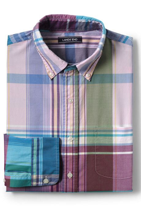 Men's Traditional Fit Lightweight Cotton Shirt