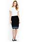 Women's Regular Supima Knitted Ottoman Skirt
