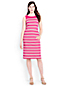 Women's Engineered Stripe Ponte Jersey Dress