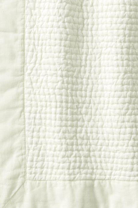 Cotton-Silk Channel Stitched Quilt