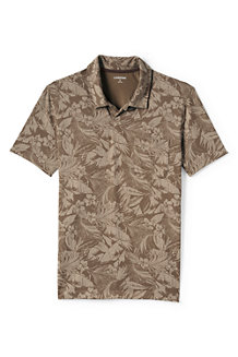 Men's Patterned Seaworn Jersey Polo
