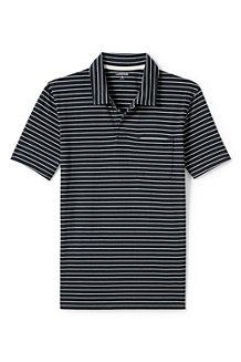 Men's Striped Seaworn Jersey Polo
