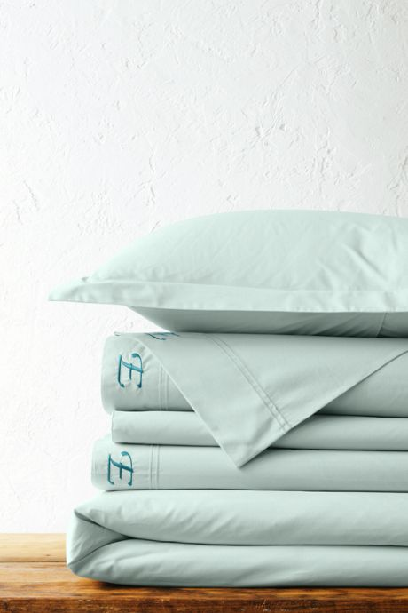 Percale Solid Duvet Cover