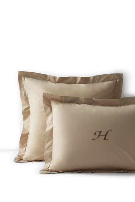 Percale Solid Shams