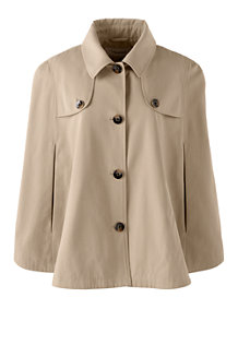 Women's Trench Coat Cape