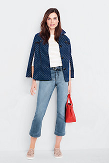 Women's Patterned Trench Coat Cape