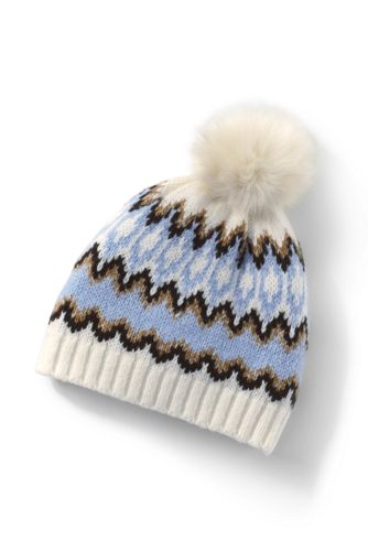 Women's Winter Fair Isle Hat