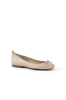 Women's  Scalloped Ballet Pumps