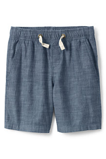 Boys' Pull-on Chambray Shorts