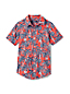 Toddler Boys' Printed Short Sleeve  Shirt