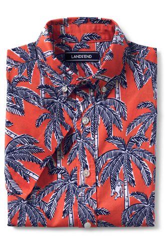 Little Boys' Printed Short Sleeve  Shirt