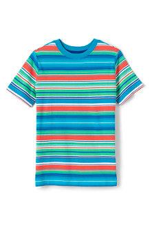 Le T-Shirt à Rayures Multiples, Garçon