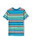 Le T-Shirt à Rayures Multiples, Petit Garçon