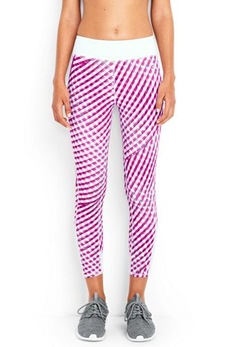 Speed Gemusterte Capri-Leggings