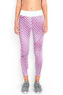 Women's LE Sport Patterned Running Crops