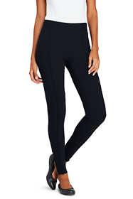 Women's Petite Ponte Ankle Zip Leggings