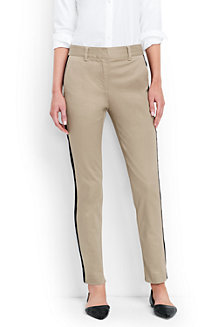 Free Shipping Exclusive Inexpensive Cheap Price Womens Regular Side Stripe Slim Chinos - 14/16 Lands End Manchester Great Sale Cheap Online Cheap Sale Pre Order Cheap Sale Shop PrQvVUkcuD