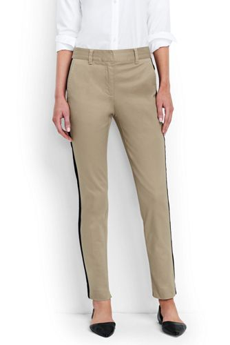 Women's Regular Side Stripe Slim Chinos
