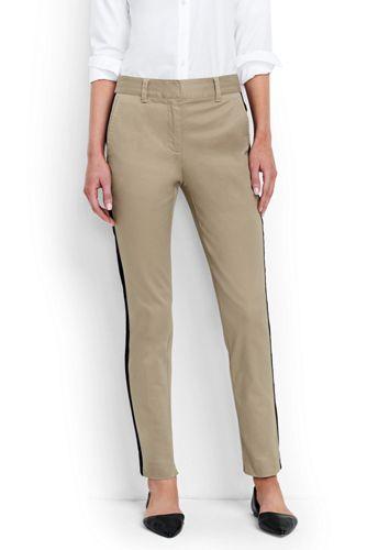 Women's Regular Side Stripe Slim Chinos