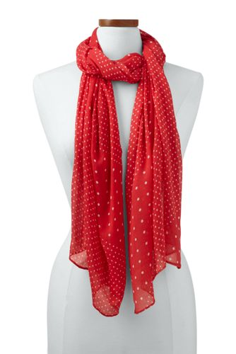 Women's Variegated Dot Scarf