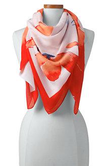 Hibiskusblüten-Tuch für Damen