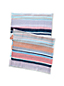 Women's Multi Stripe Cotton Scarf