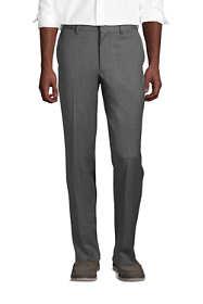 Men's Tailored Fit Wool Gabardine Dress Pants