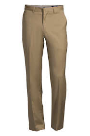 Men's Traditional Fit Wool Gabardine Dress Pants