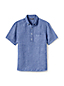 Men's Regular Short Sleeve Popover Linen Shirt
