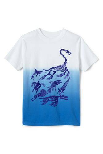 Toddler Boys' Dip-dye Graphic Tee