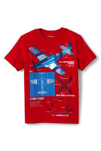 Le T-Shirt Graphique Avion, Petit Garçon