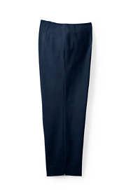 Women's Plus Size Mid Rise Bi-Stretch Capri Pants