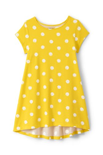 Toddler Girls' Dot Print Trapeze Legging Top