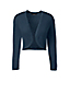 Women's Regular Supima 3-Quarter Sleeve Pointelle Bolero