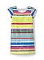 Verziertes Kleid in A-Linie für kleine Mädchen
