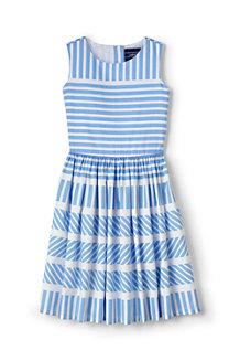 ガールズ・ノースリーブ・ツイル・ドレス