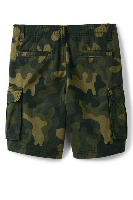 Boys Husky Camo Cargo Shorts