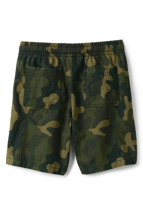 Boys Pull On Camo Shorts